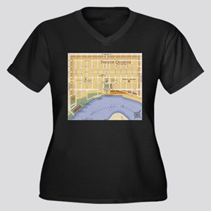 French Quarter Ma Plus Size T-Shirt
