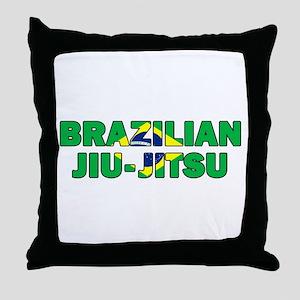 Brazilian Jiu-Jitsu 001 Throw Pillow