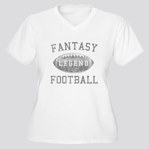 Fantasy Football  Women's Plus Size V-Neck T-Shirt