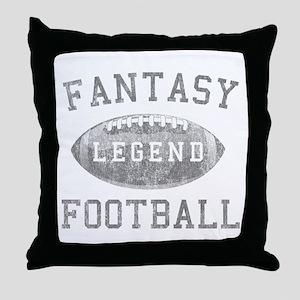 Fantasy Football Legend Throw Pillow
