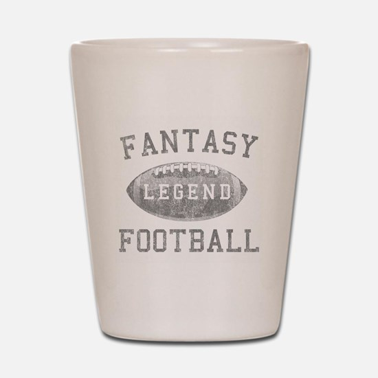 Fantasy Football Legend Shot Glass