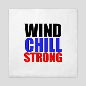 Wind Chill Strong Queen Duvet
