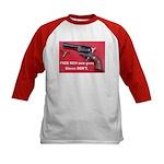 FREE MEN own guns Kids Baseball Jersey