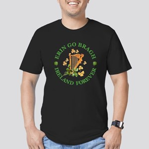 Erin Go Bragh Men's Fitted T-Shirt (dark)