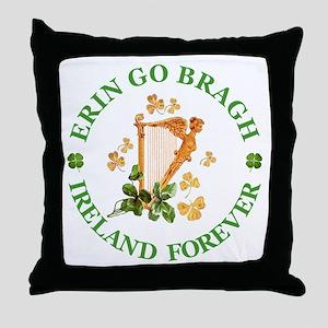 Erin Go Bragh Throw Pillow