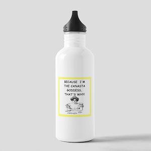 canasta joke Water Bottle