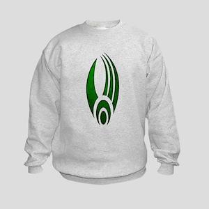 Distressed Borg Insignia Kids Sweatshirt