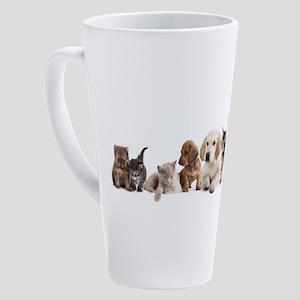 Cute Pet Panorama 17 oz Latte Mug