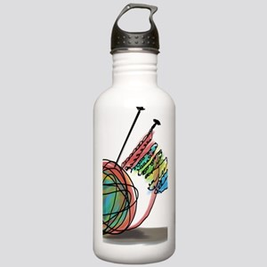 Time to Knit Stainless Water Bottle 1.0L