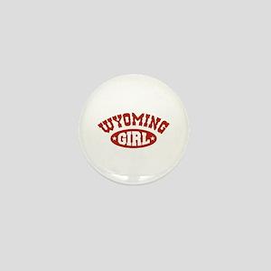 Wyoming Girl Mini Button
