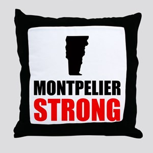 Montpelier Strong Throw Pillow