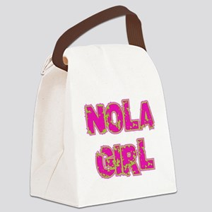 mardi79colored Canvas Lunch Bag
