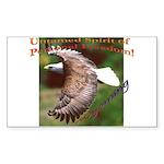 Untamed Spirit Two - Sticker (Rect.)