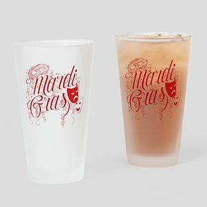 mardi2black Drinking Glass