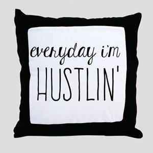 Hustlin Throw Pillow