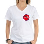 Infringement Women's V-Neck T-Shirt