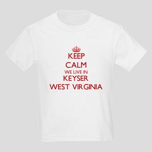 Keep calm we live in Keyser West Virginia T-Shirt