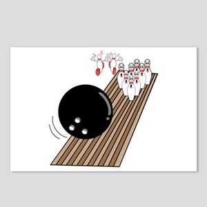 Bowling Lane Postcards (Package of 8)