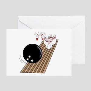 Bowling Lane Greeting Cards (Pk of 10)