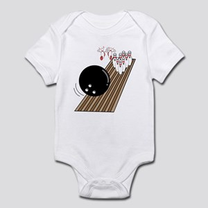 Bowling Lane Infant Bodysuit