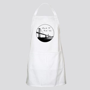 """From The 'O' To The 'Sco"""" BBQ Apron"""