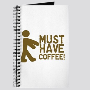 Must Have COFFEE! Zombie Journal