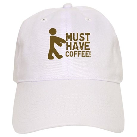 Must Have COFFEE! Zombie Cap