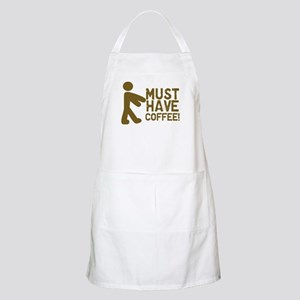 Must Have COFFEE! Zombie BBQ Apron