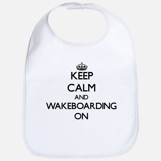 Keep calm and Wakeboarding ON Bib