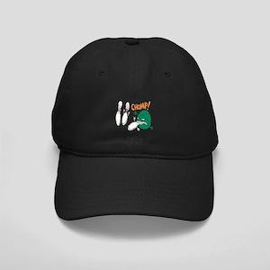 Chomp! Says The Bowling Monster Black Cap