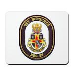 USS MITSCHER Mousepad