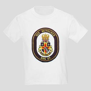 USS MITSCHER Kids Light T-Shirt