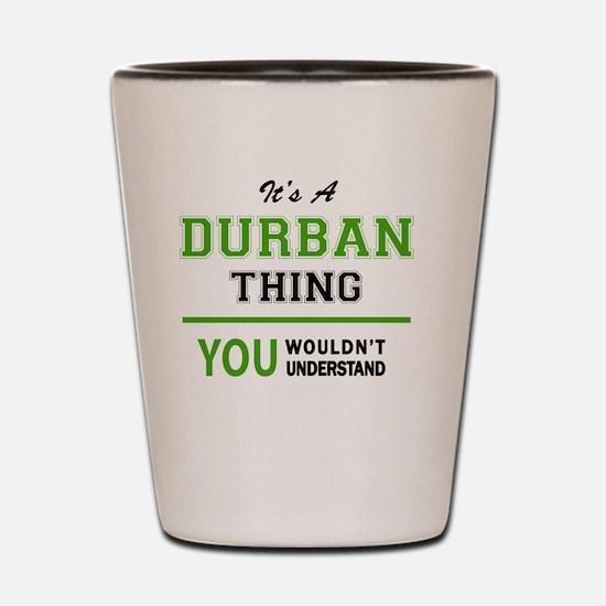 Cool Durban Shot Glass