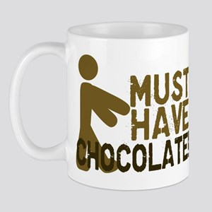 Must Have CHOCOLATE! Zombie Mug
