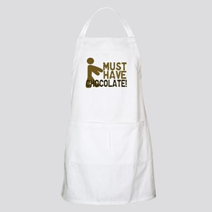 Must Have CHOCOLATE! Zombie BBQ Apron