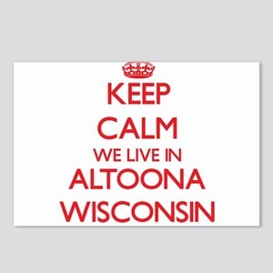 Keep calm we live in Alto Postcards (Package of 8)