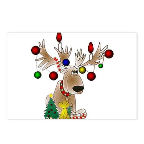 Reindeer Postcards (Package of 8)