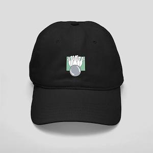 Funny Faced Pins Black Cap