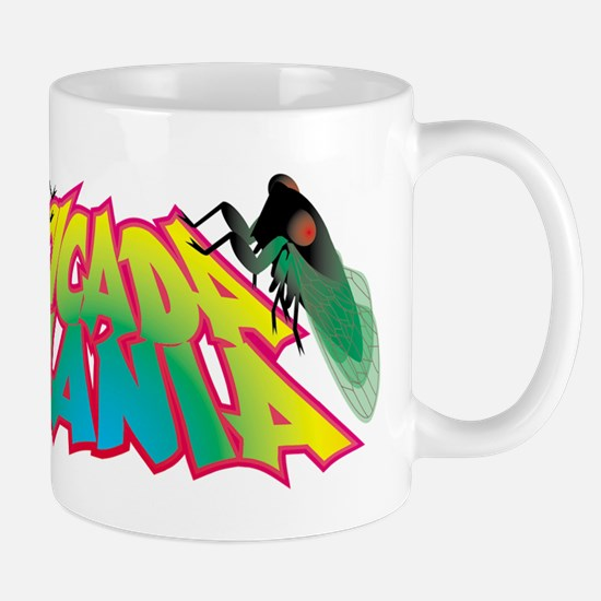 Cicada Mania logo Mugs