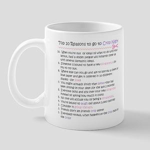 Top 10 {Crop Night} Mug