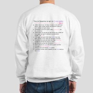 Top 10 {Crop Night} (doublesided) Sweatshirt