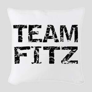 Team Fitz Scandal Woven Throw Pillow
