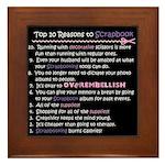 Top 10 {Scrapbook} Framed Tile