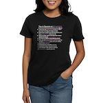 Top 10 {Scrapbook} Women's Dark T-Shirt