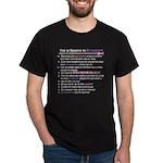 Top 10 {Scrapbook} Dark T-Shirt