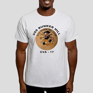 USS Bunker Hill CVA-17 Light T-Shirt