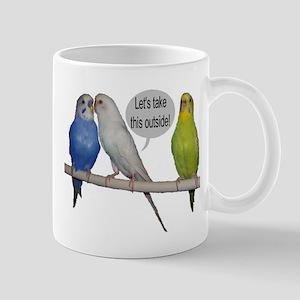 """""""Parakeet Humor #9"""" Mug"""