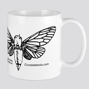 Cicada Illustration Mugs
