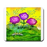 Flowers Keeping Cool Mousepad