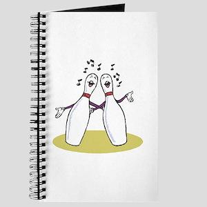 Singing Bowling Pins Journal